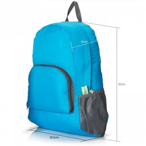 Складной рюкзак для путешествий (серый)  в  Интернет-магазин Zelenaya Vorona™ 5