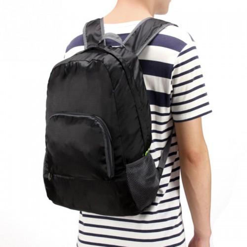 Складной рюкзак для путешествий (серый)  в  Интернет-магазин Zelenaya Vorona™ 1