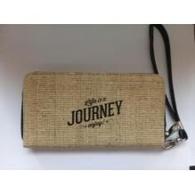 """Кошелек с ремешком на руку """"Life is a Journey enjoy"""""""