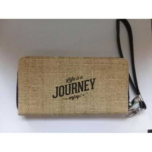 """Кошелек с ремешком на руку """"Life is a Journey enjoy""""  в  Интернет-магазин Zelenaya Vorona™ 2"""