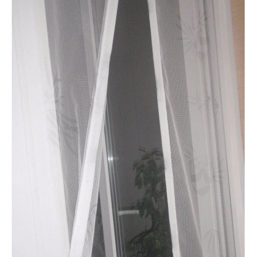 Антимоскитная сетка - штора на дверь 100 х 200  в  Интернет-магазин Zelenaya Vorona 1