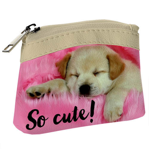 Покупка  Детский кошелек KID Милый спящий щенок в  Интернет-магазин Zelenaya Vorona™
