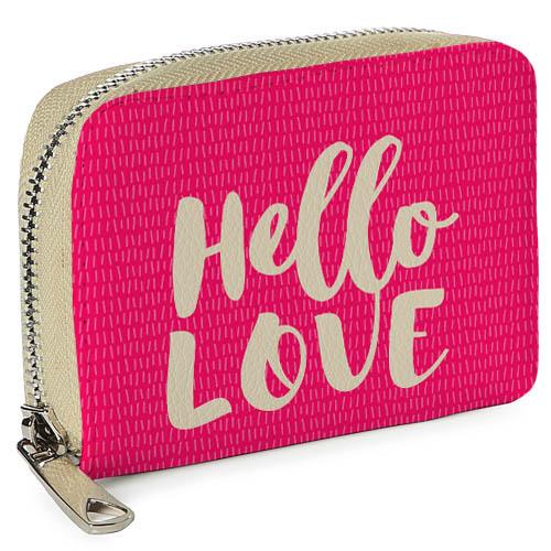 "Покупка  Кошелек Mини ""Hello Love"" в  Интернет-магазин Zelenaya Vorona™"
