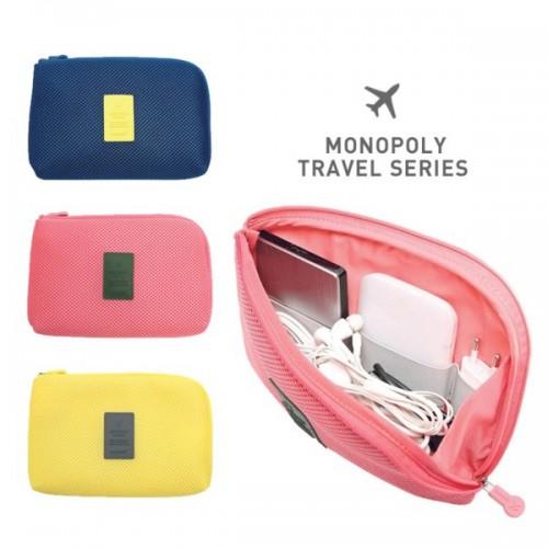 Покупка  Органайзер для зарядок и прочих мелочей Monopoly Cable Pouch в  Интернет-магазин Zelenaya Vorona™