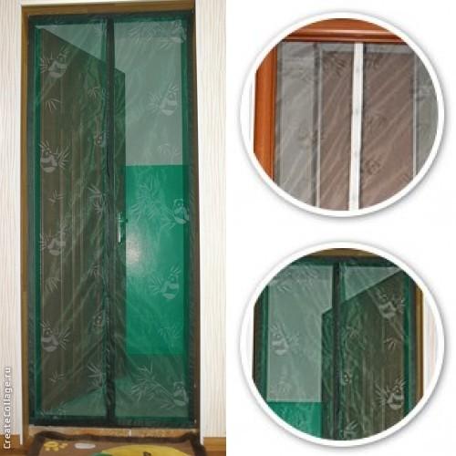 Покупка  Антимоскитные шторы на магнитах 110х200  в  Интернет-магазин Zelenaya Vorona™