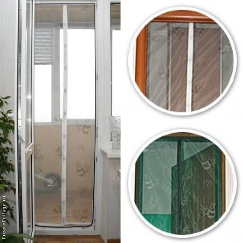 Покупка  Антимоскитные шторы 60 х 200 (балкон) в  Интернет-магазин Zelenaya Vorona™