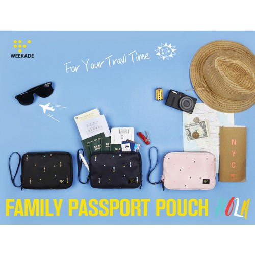 Органайзер для документов Family Passport Pouch Hola  в  Интернет-магазин Zelenaya Vorona 5
