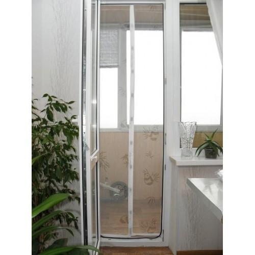 Москитная сетка-штора на магнитах 90 х 210  в  Интернет-магазин Zelenaya Vorona™ 1