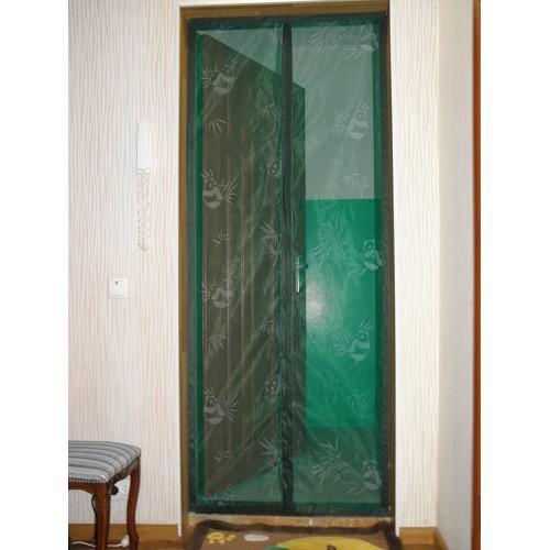 Антимоскитная сетка - штора на дверь 100 х 200  в  Интернет-магазин Zelenaya Vorona 2