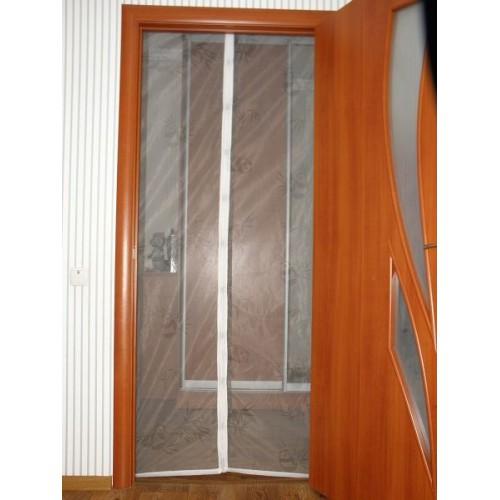 Покупка  Антимоскитная сетка - штора на дверь 100 х 200 в  Интернет-магазин Zelenaya Vorona