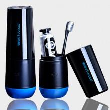 Travel чашка Westwood для зубной пасты и щетки. Черная