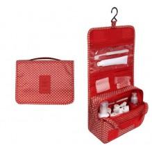 Дорожный органайзер Monopoly toiletry pouch. Красные звезды