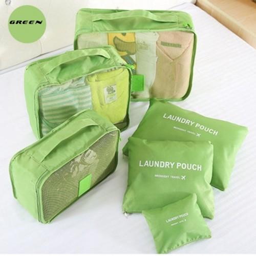 Покупка  Набор дорожных органайзеров Secret Pouch. Зеленый в  Интернет-магазин Zelenaya Vorona™