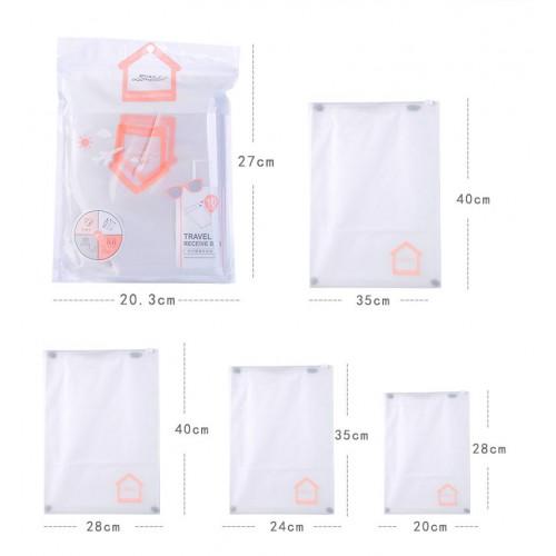 Покупка  Набор дорожных пакетов Lameila 10 шт. в  Интернет-магазин Zelenaya Vorona™