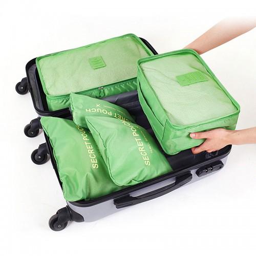 Набор дорожных органайзеров Secret Pouch. Зеленый  в  Интернет-магазин Zelenaya Vorona™ 1