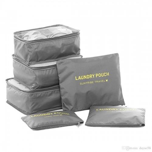 Набор дорожных органайзеров Secret Pouch. Серый  в  Интернет-магазин Zelenaya Vorona™ 1
