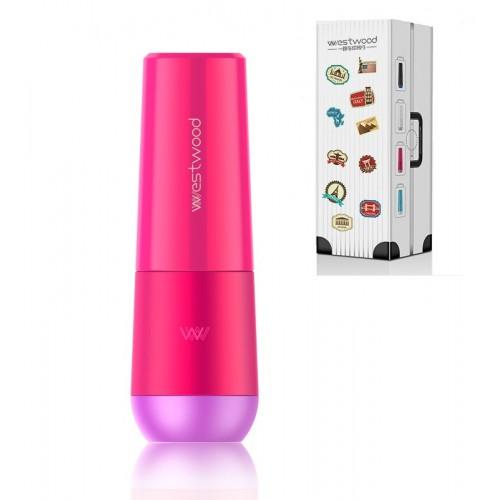 Покупка  Travel чашка Westwood для зубной пасты и щетки. Темно-розовая в  Интернет-магазин Zelenaya Vorona™