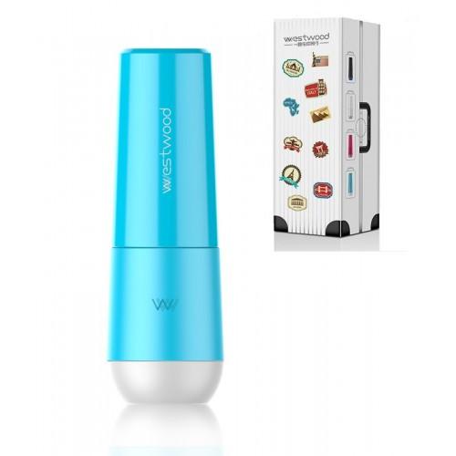 Покупка  Travel чашка для зубной пасты и щетки Westwood. Venice blue в  Интернет-магазин Zelenaya Vorona™