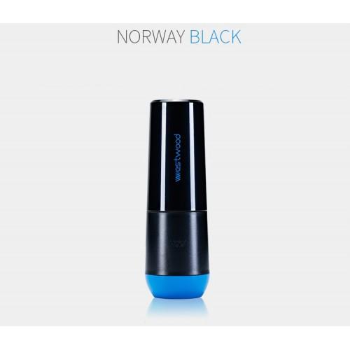 Travel чашка Westwood для зубной пасты и щетки. Черная  в  Интернет-магазин Zelenaya Vorona™ 1