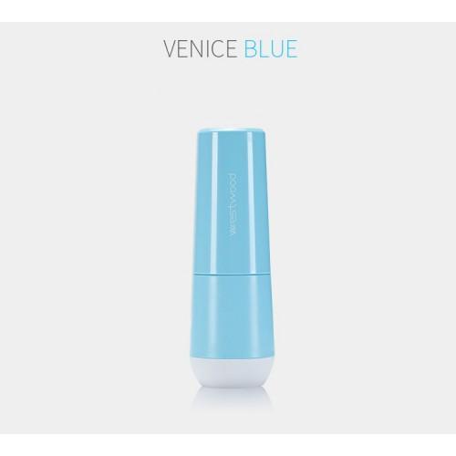 Travel чашка для зубной пасты и щетки Westwood. Venice blue  в  Интернет-магазин Zelenaya Vorona™ 3