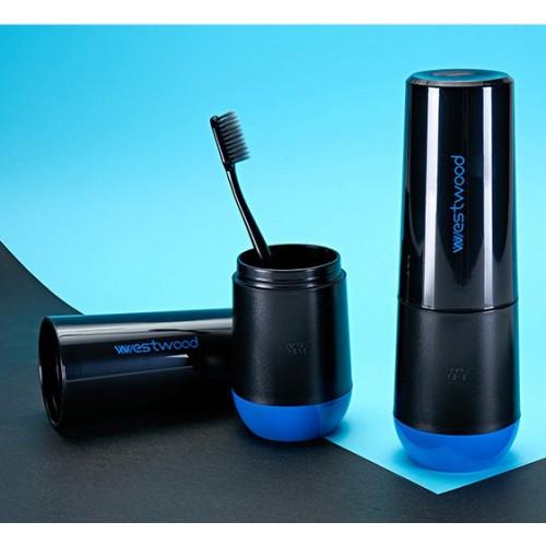 Travel чашка Westwood для зубной пасты и щетки. Черная  в  Интернет-магазин Zelenaya Vorona™ 3