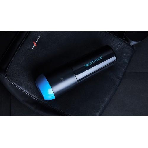 Travel чашка Westwood для зубной пасты и щетки. Черная  в  Интернет-магазин Zelenaya Vorona™ 5