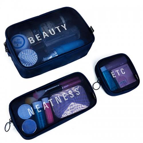Покупка  Набор дорожных органайзеров Neatness-Beauty-Etc. Синий в  Интернет-магазин Zelenaya Vorona™