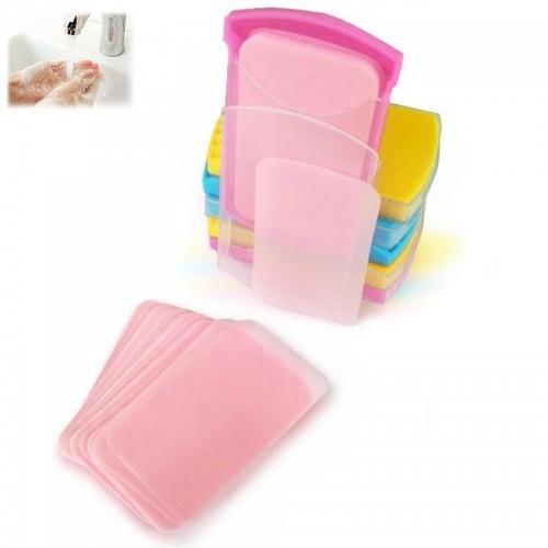 Покупка  Бумажное одноразовое мыло в кейсе 50 шт в  Интернет-магазин Zelenaya Vorona™