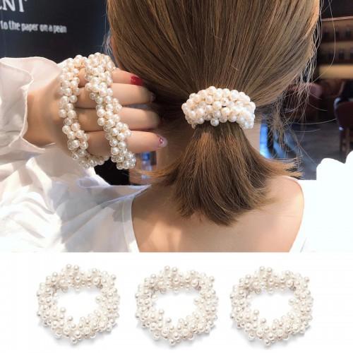 Покупка  Резинка для волос с жемчугом в  Интернет-магазин Zelenaya Vorona™