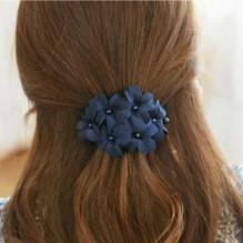 Заколка для волос с цветами Blue flowers