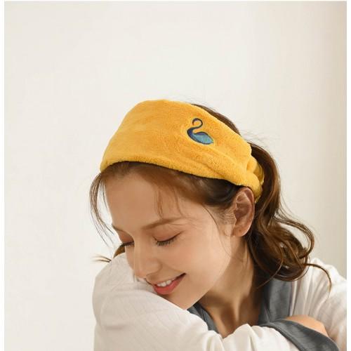 Флисовая косметическая повязка на голову с вышивкой  в  Интернет-магазин Zelenaya Vorona™ 2
