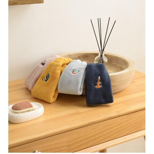 Флисовая косметическая повязка на голову с вышивкой  в  Интернет-магазин Zelenaya Vorona™ 3