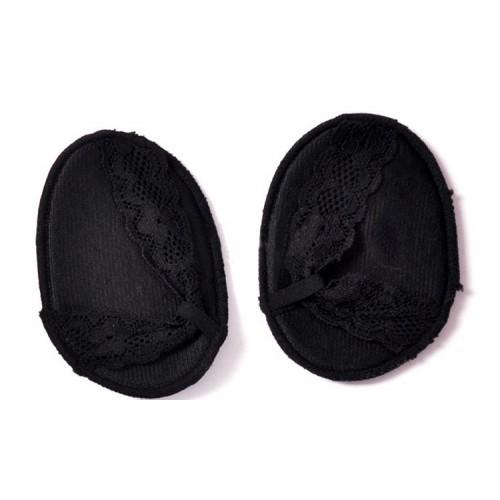 Ажурные нескользящие вкладыши для летней обуви и высоких каблуков. Черный  в  Интернет-магазин Zelenaya Vorona™ 4