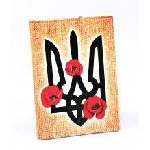 Визитница для карточек Герб и маки