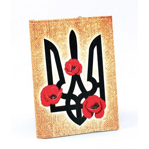 Покупка  Визитница для карточек Герб и маки в  Интернет-магазин Zelenaya Vorona™