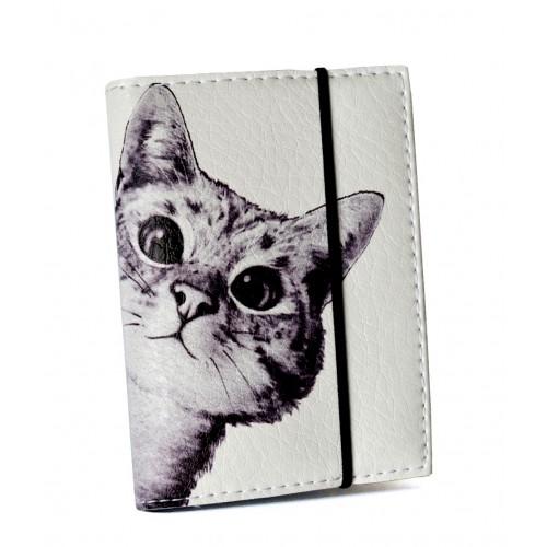 Покупка  Визитница для карточек Любопытный котик в  Интернет-магазин Zelenaya Vorona™