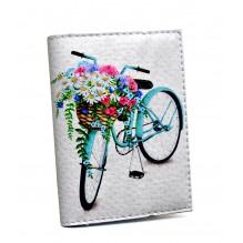 Визитница для карточек Цветочная корзина