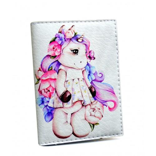 Покупка  Визитница для карточек Единорог в  Интернет-магазин Zelenaya Vorona™