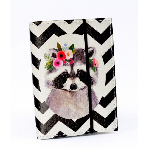 Покупка  Визитница для карточек Енот в  Интернет-магазин Zelenaya Vorona™