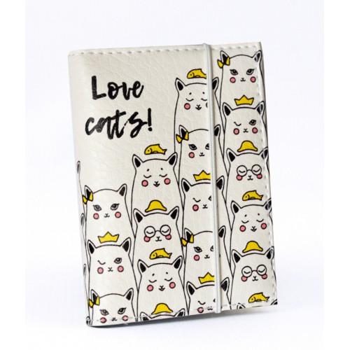 Покупка  Визитница для карточек Котики в  Интернет-магазин Zelenaya Vorona™
