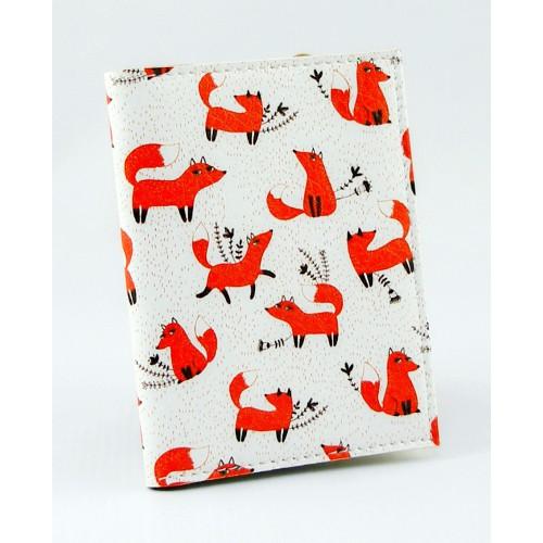 Покупка  Визитница для карточек Лисички в  Интернет-магазин Zelenaya Vorona™