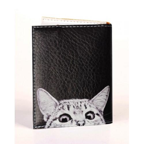 Визитница для карточек Любопытный котик  в  Интернет-магазин Zelenaya Vorona™ 1