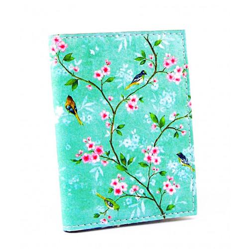 Покупка  Визитница для карточек Птицы-Цветы в  Интернет-магазин Zelenaya Vorona™