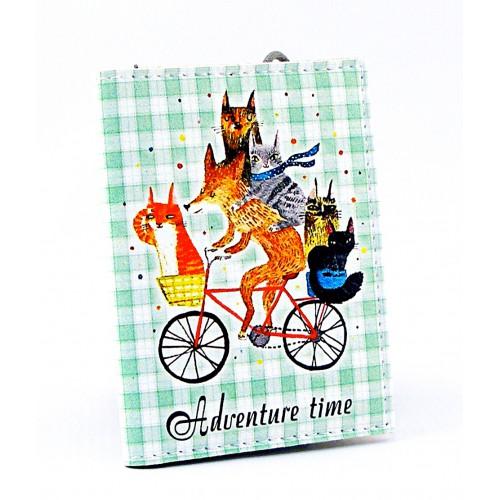 Покупка  Визитница для карточек Время приключений в  Интернет-магазин Zelenaya Vorona™