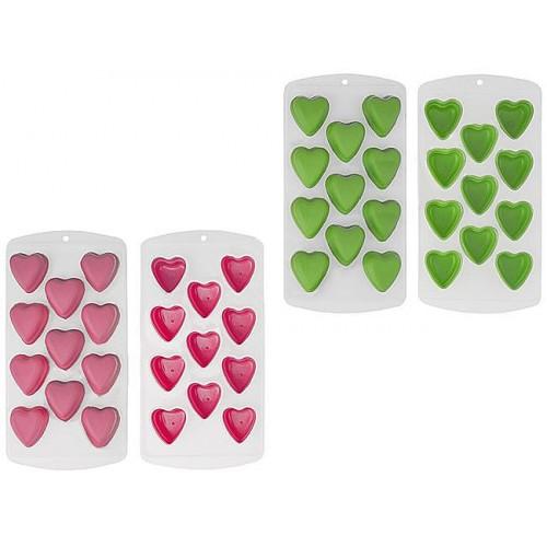 Силиконовая форма для льда Сердечки  в  Интернет-магазин Zelenaya Vorona™ 1