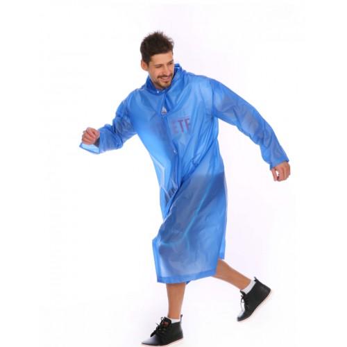 Плащ-дождевик EVA Raincoat Унисекс. Темно-синий  в  Интернет-магазин Zelenaya Vorona™ 1