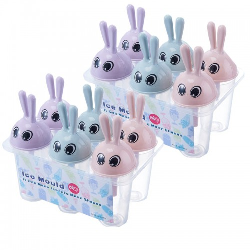 Покупка  Формочки для мороженого Зайчики (6 форм) в  Интернет-магазин Zelenaya Vorona™