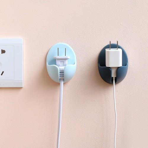 Покупка  Держатель для проводов, вилок электроприборов на стену 2 шт./наб. в  Интернет-магазин Zelenaya Vorona™