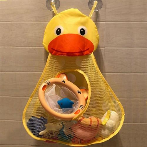Органайзер в ванную для игрушек на присосках Утенок  в  Интернет-магазин Zelenaya Vorona™ 3