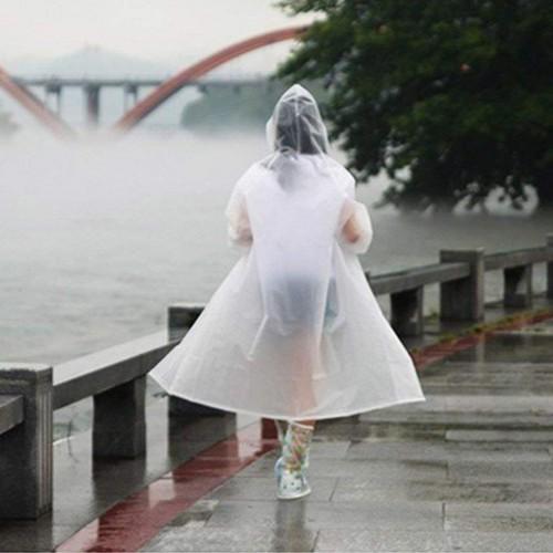 Плащ-дождевик EVA Raincoat Унисекс. Белый  в  Интернет-магазин Zelenaya Vorona™ 2